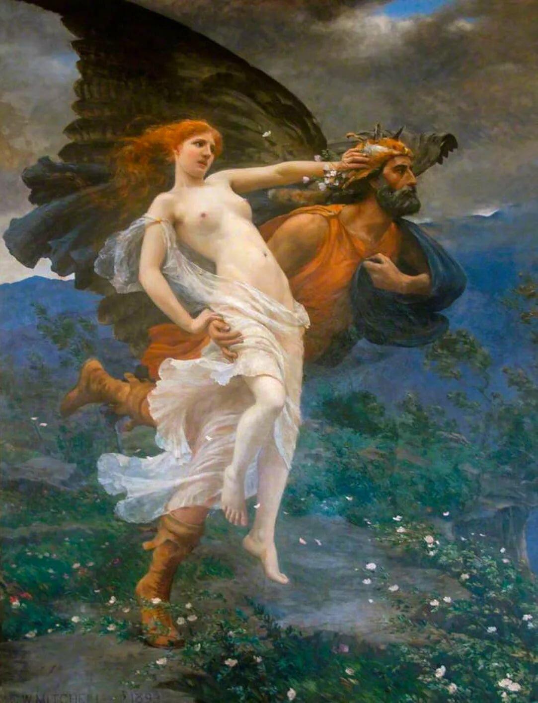 Нимфы древней греции. нимфы — воплощение сил природы из греческих легенд греческая нимфа