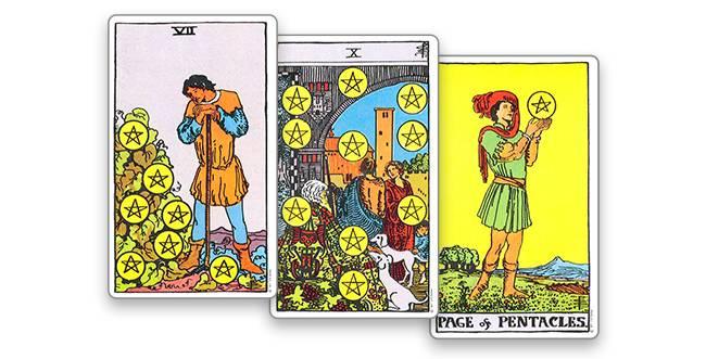10 (десятка) кубков (чаш) в картах таро:значение в отношениях, любви, работе