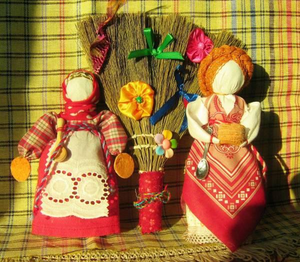 Кукла-масленица своими руками: пошаговый мастер-класс по изготовлению куклы-масленицы из ткани