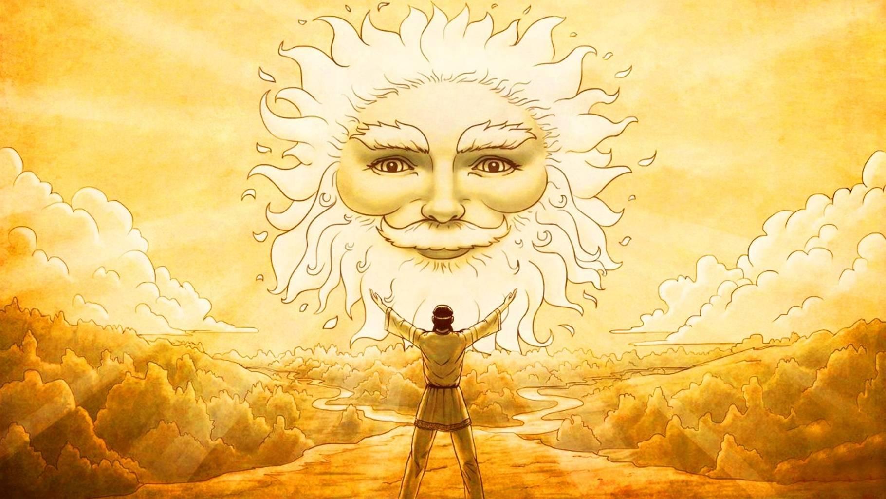О связях ярилы с солнцем, небом и громовержцем. ярило — бог солнца и посвященный ему праздник ярилин день
