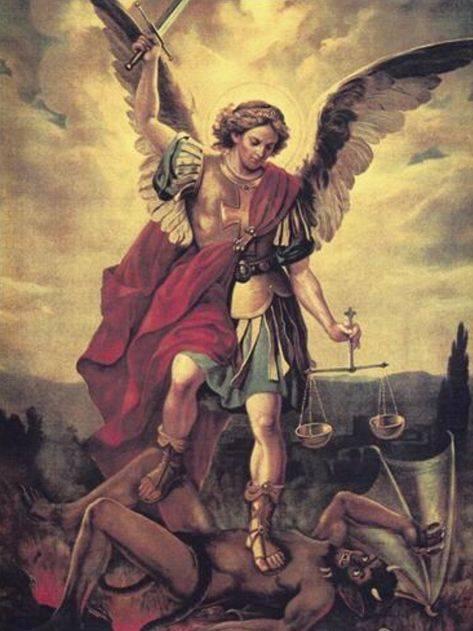 Архангел люцифер и архангел михаил — противостояние братьев (4 фото)