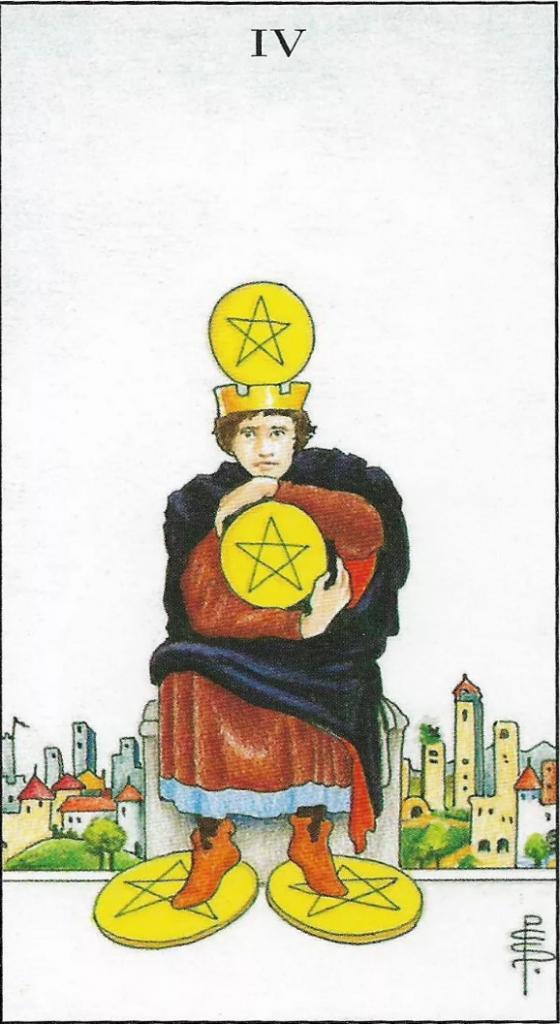 Значение карты таро — король пентаклей (монет)