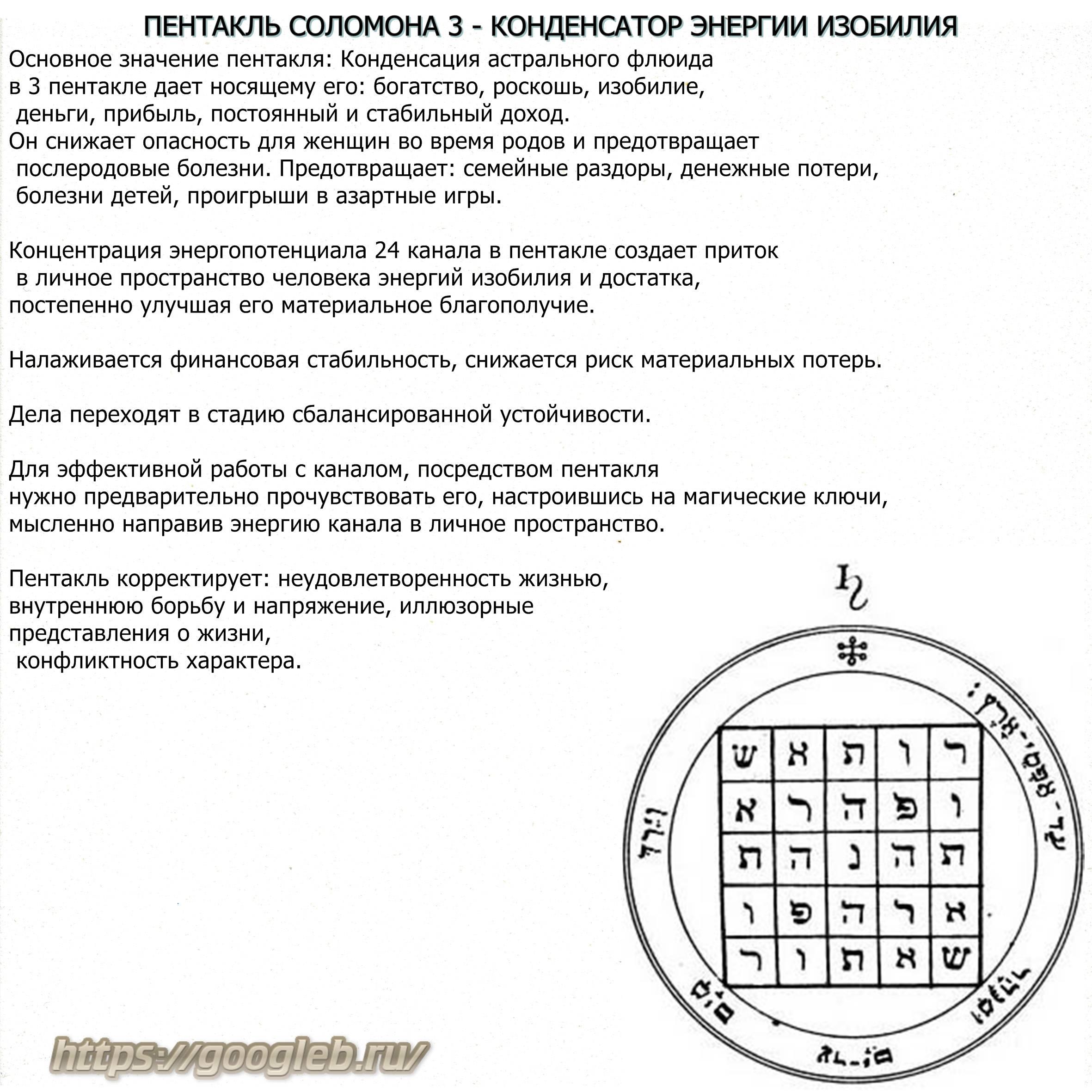 Значение символа печать соломона, как сделать своими руками?