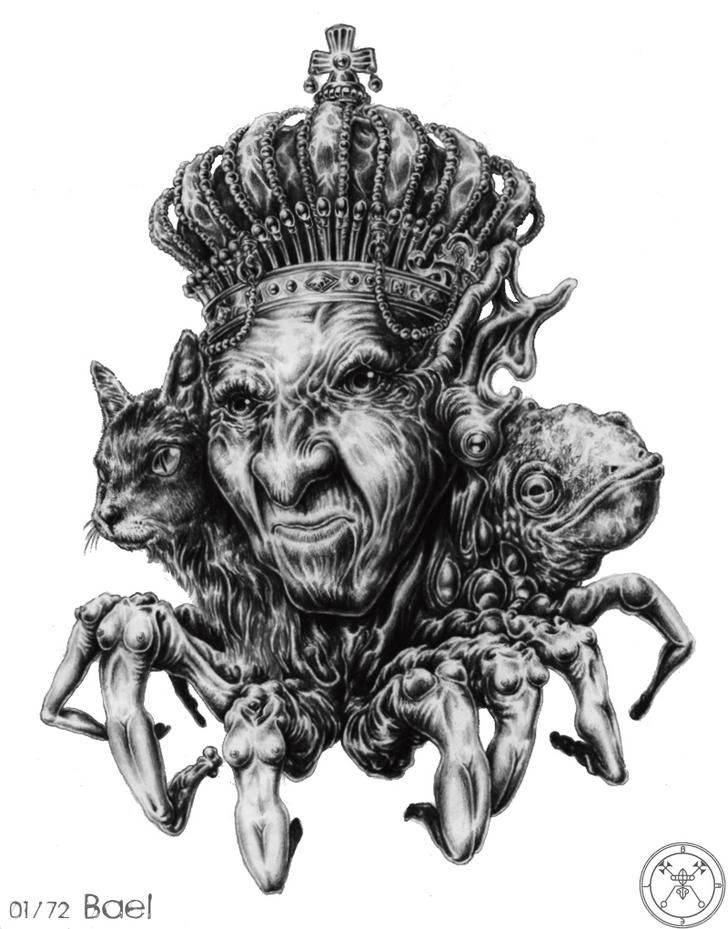 Демон левиафан | potu-storony.ru