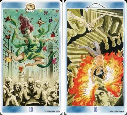 Таро шаманов: галерея и значения карт