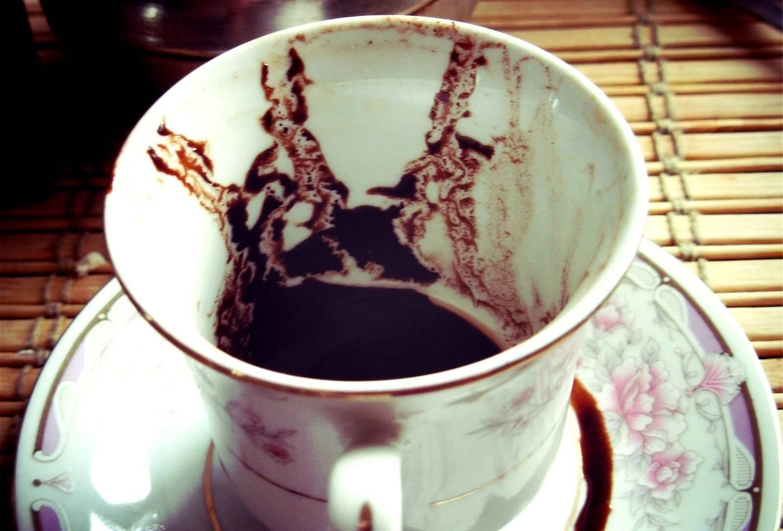 Гадание  на кофейной гуще   значение символов
