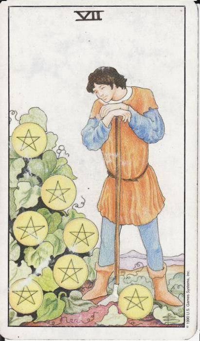 Значение карты таро — 6 (шестёрка) пентаклей