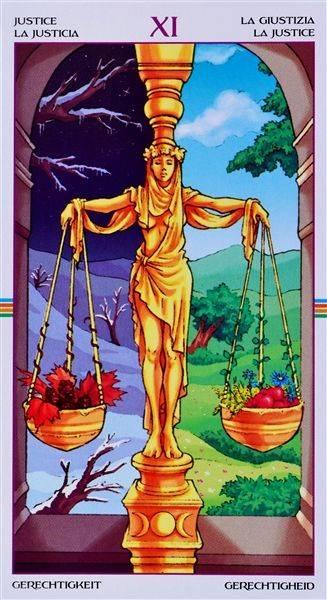 Карта справедливость (правосудие) в таро: значение и основные идеи