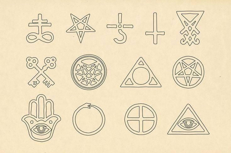 Оккультные науки: символы и знаки - оккультные способности и практики