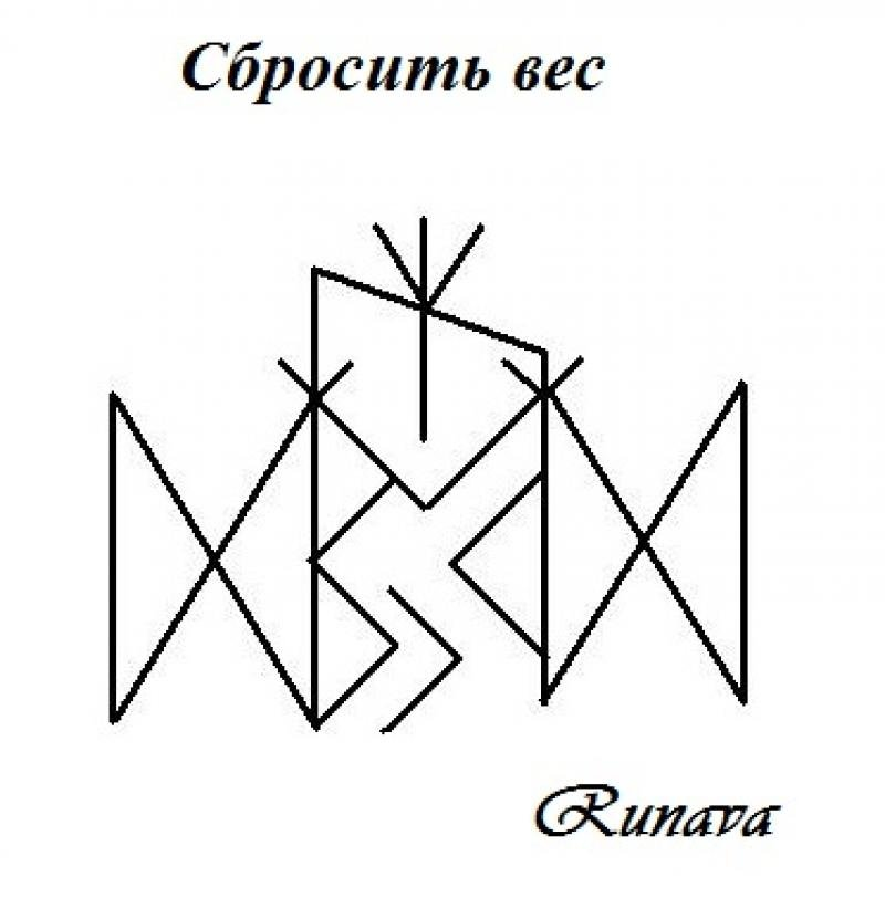Рунический став «солнышко»