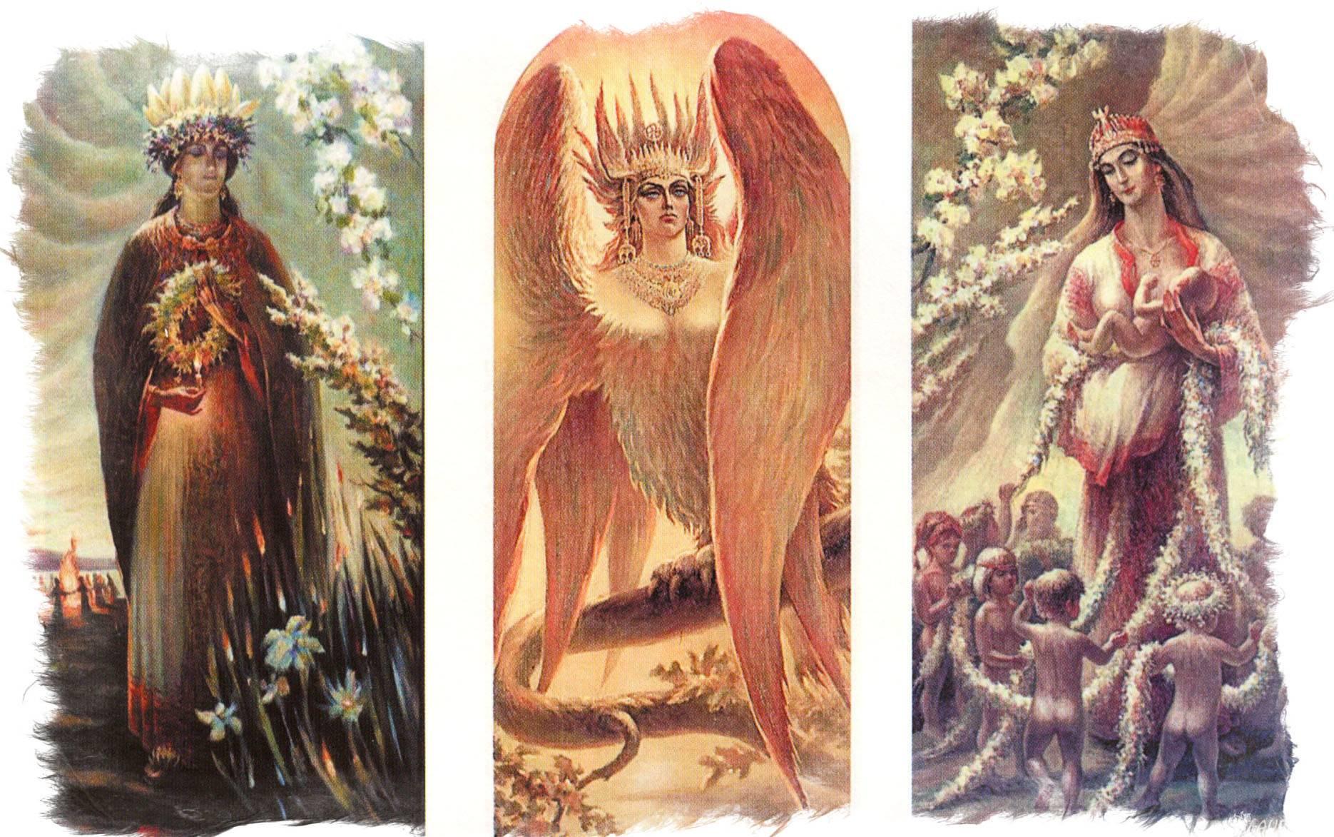 Баба яга в славянской мифологии