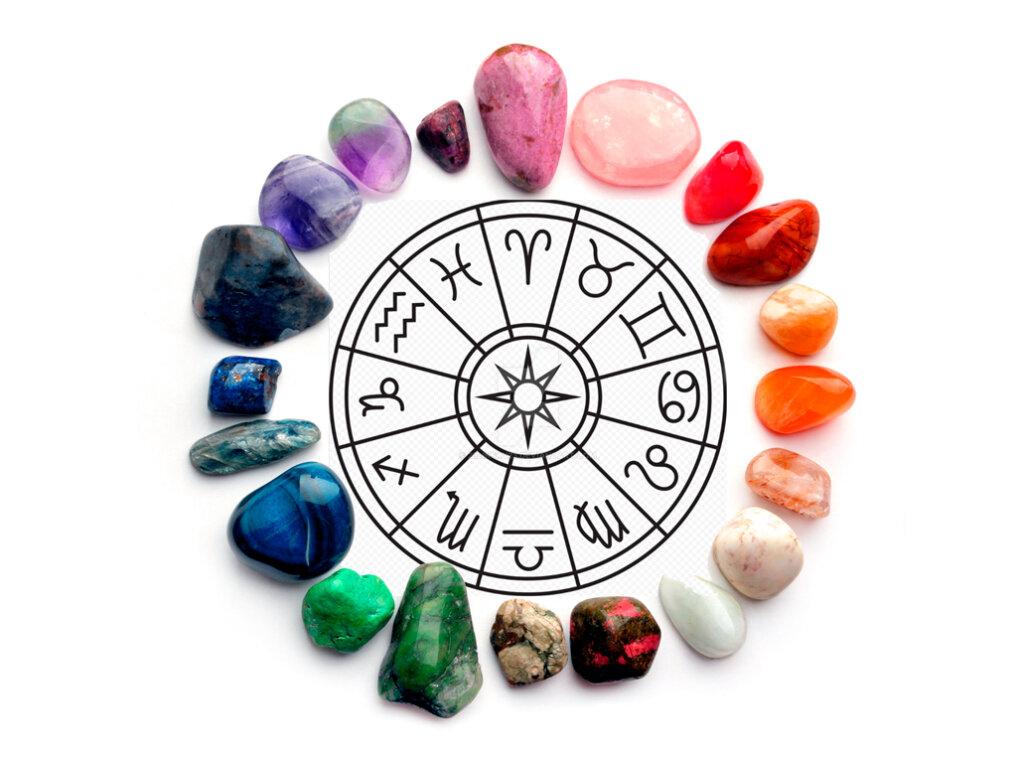 Камни по знакам зодиака, таблица