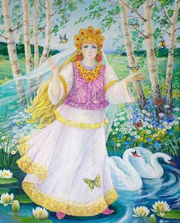 Славянская богиня лада — место в пантеоне, символы и праздники