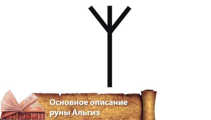 Значение руны альгиз – струны мира