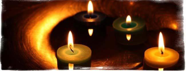 Гадание на свечах или как узнать имя настоящей любви