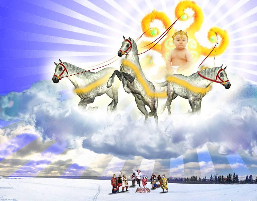 Колядник – символ коляды, бога зимнего солнца