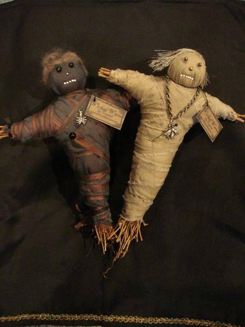 Как сделать врагу на смерть используя куклы вуду