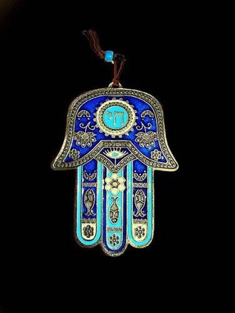 Амулет хамса (рука фатимы)