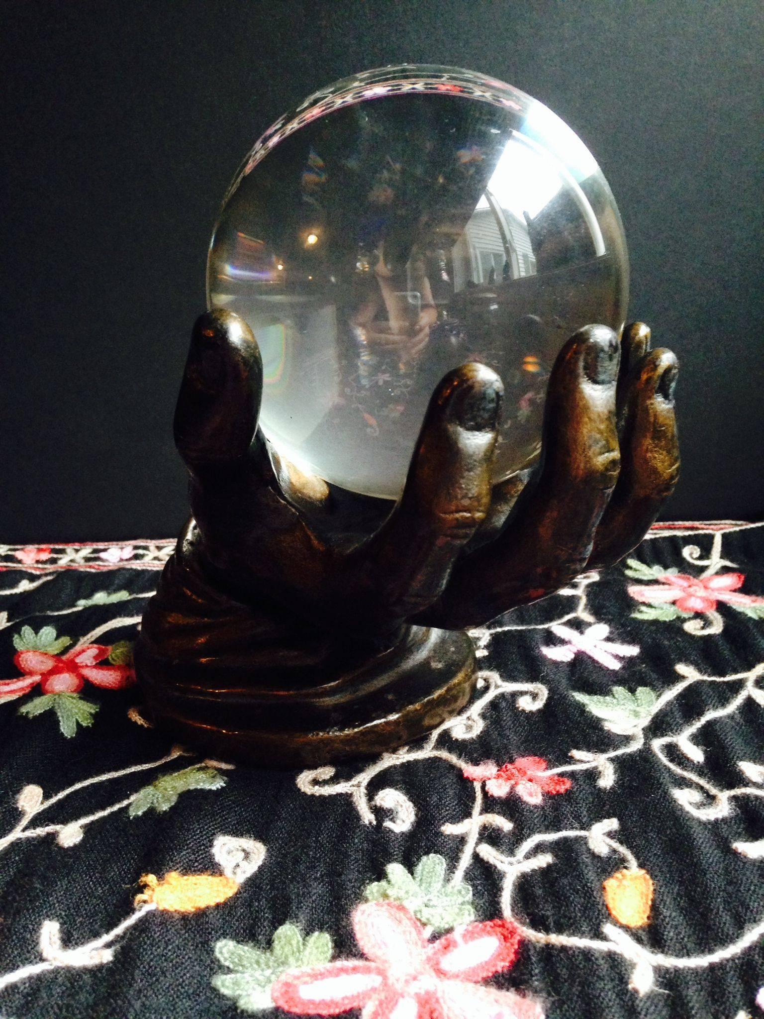 Хрустальный шар и магическое зеркало