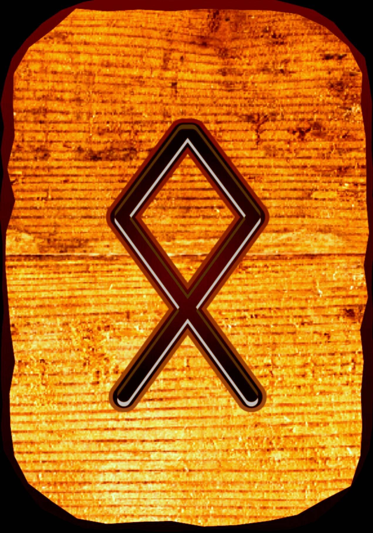 Руна хагалаз - описание и значение (к. сельченок)