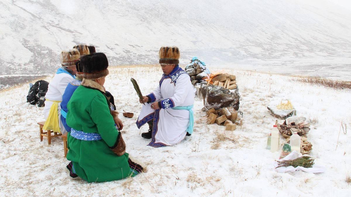 Шаманизм в сибири — википедия