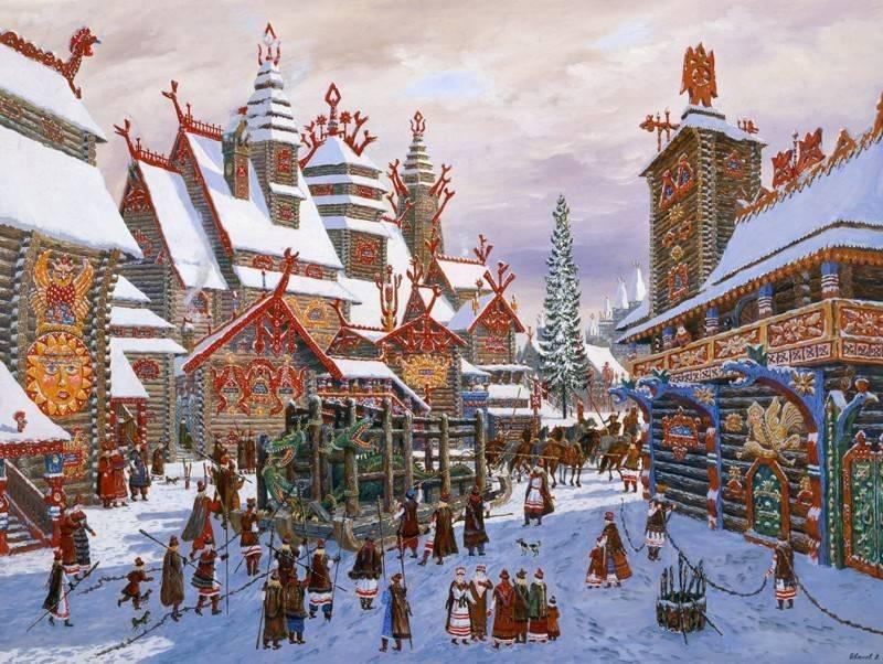 Новый год у древних славян