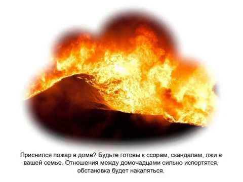 Пожар городе