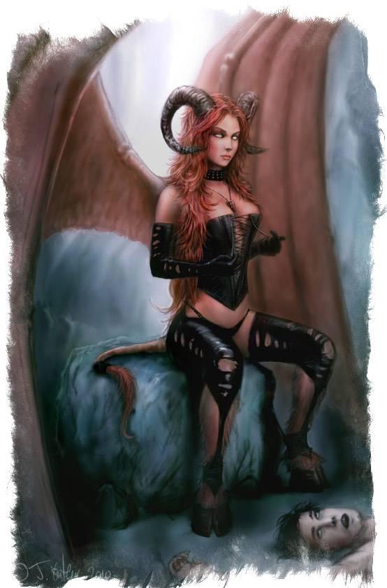Эмпуса — вампир из свиты Гекаты