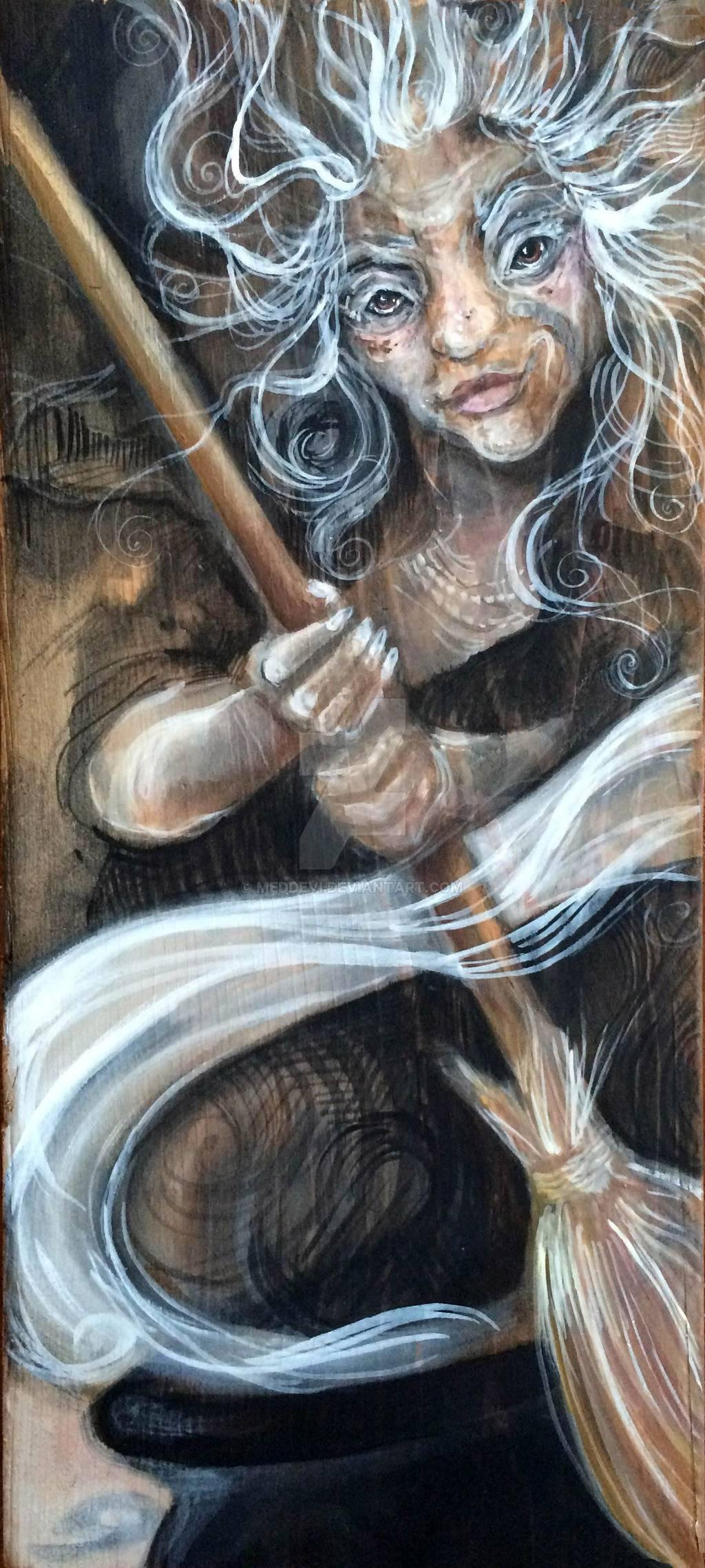 Баба яга в древней руси. баба яга в славянской мифологии — от богини к старушке
