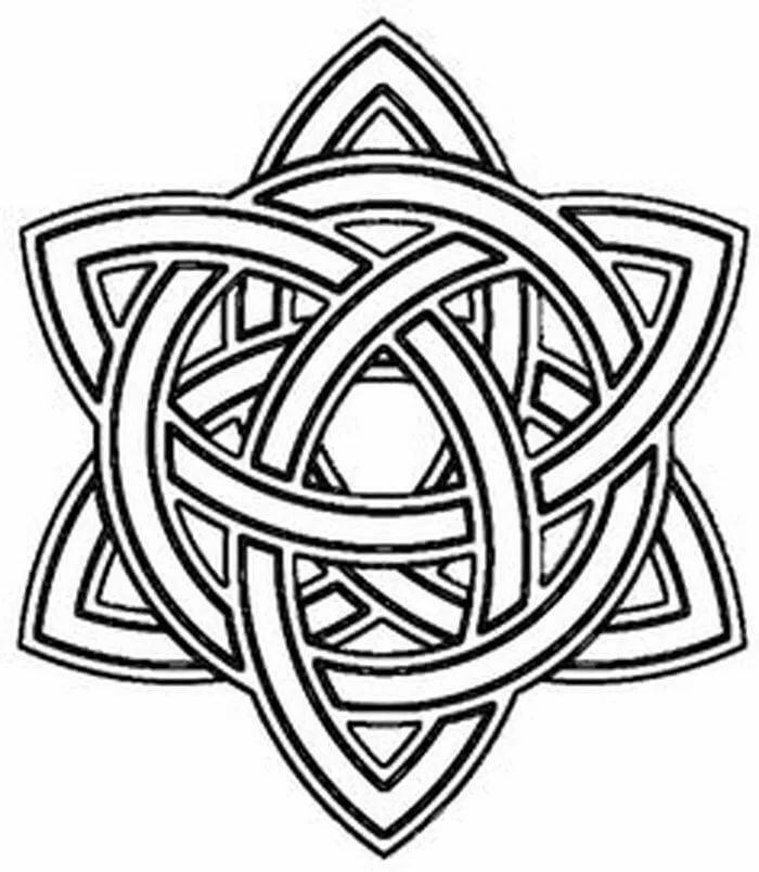 Кельтские узоры: значение символов