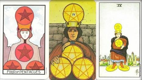 6 (шестерка) пентаклей таро: значение в отношениях, работе, любви, здоровье