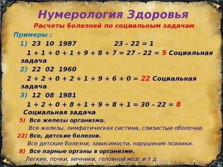 Нумерология помогает в поиске вещей