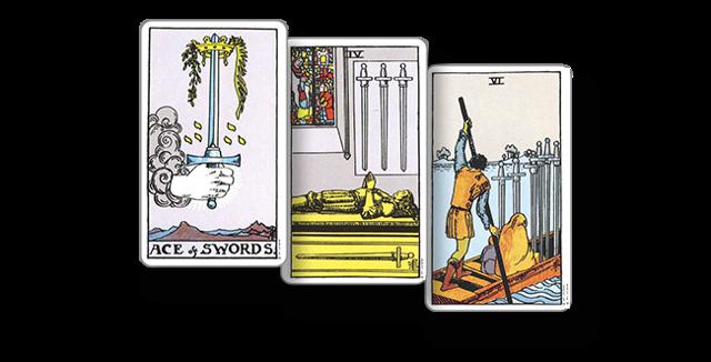 Десятка мечей: сочетание с другими картами таро, толкования