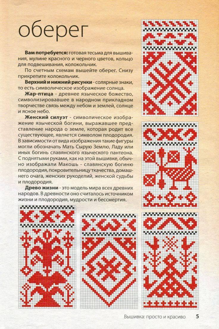 Славянские обереги и их значение с описанием и толкованием