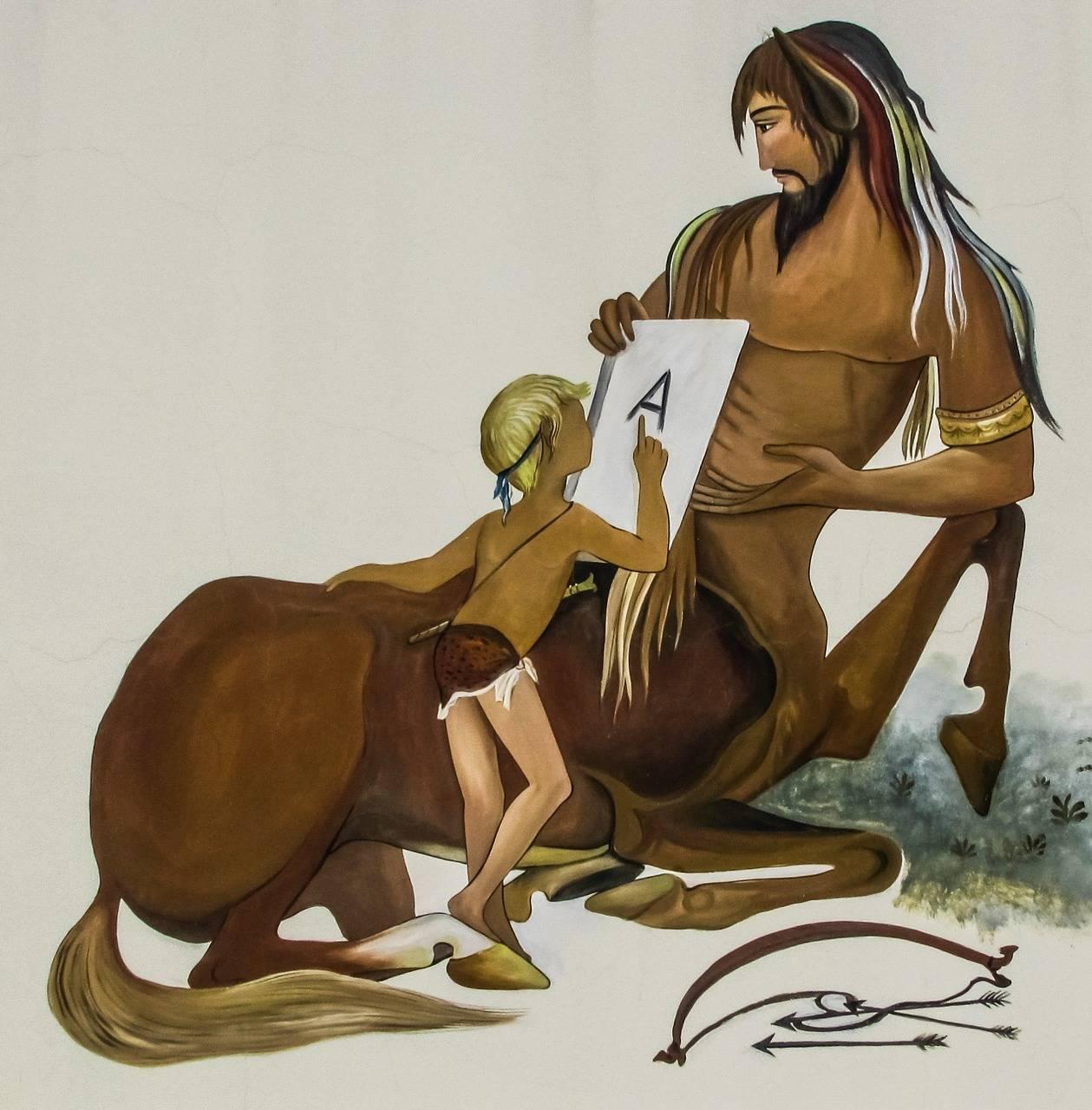 Кентавры — полулюди-полукони из легенд древней греции     магия любви
