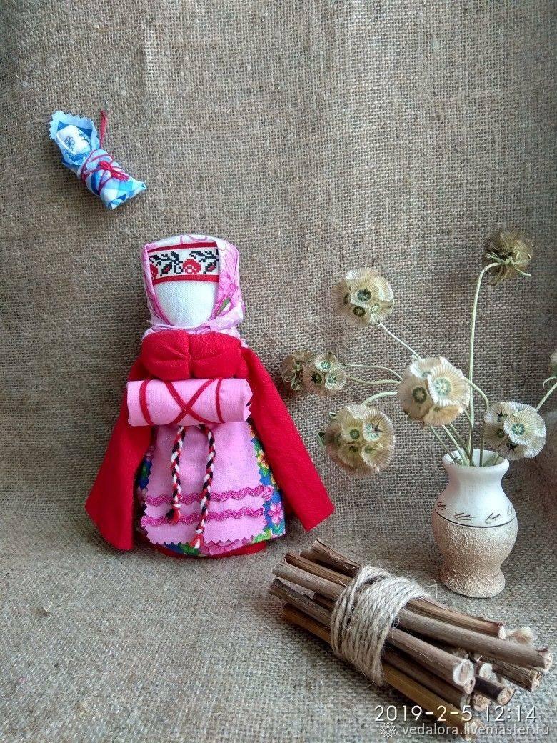 Кукла-оберег на здоровье своими руками (пошаговый мастер класс) | магия