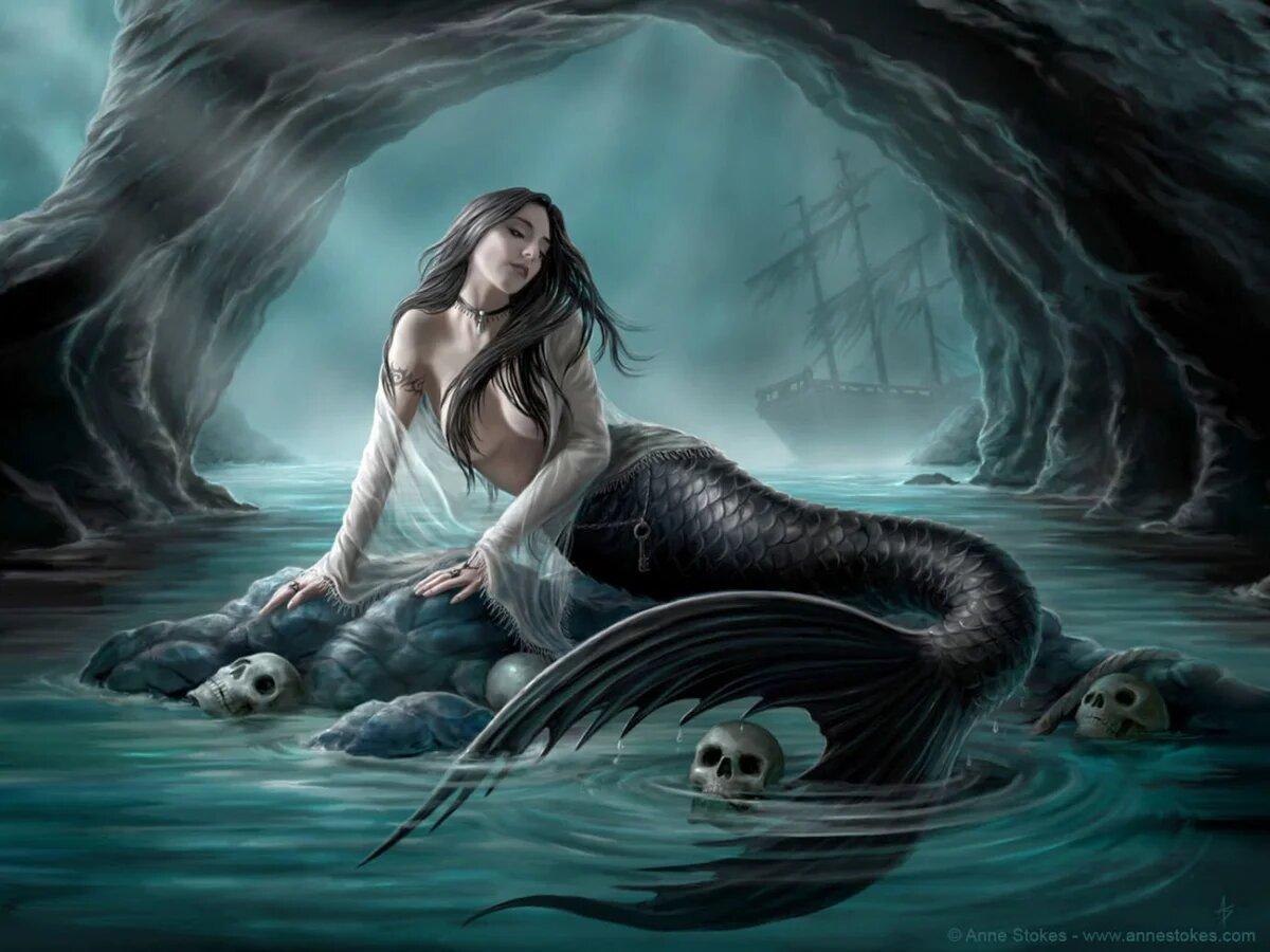 Сирены — опасные существа из древнегреческих мифов