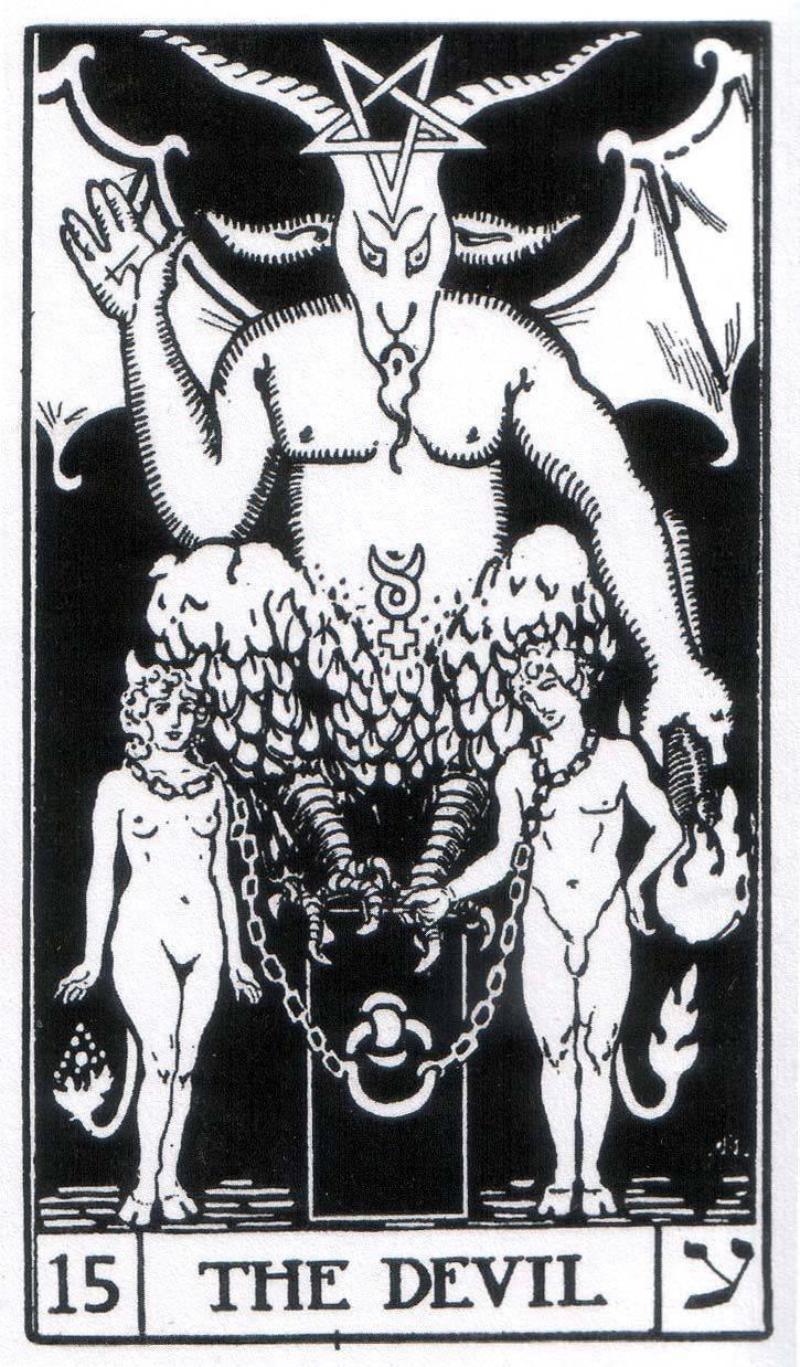 Дьявол таро: значение в отношениях, работе, любви, сочетание