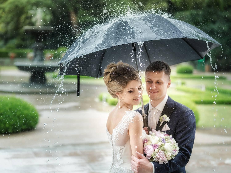 Дождь на свадьбу — Хорошая погодная примета