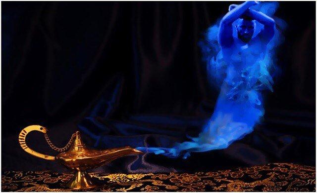 Как вызвать джина исполняющего желания без лампы. добрый друг ала ад-дина, или как вызвать джина