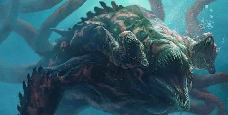 Рыба кракен. кракен — легендарное чудовище из морских глубин