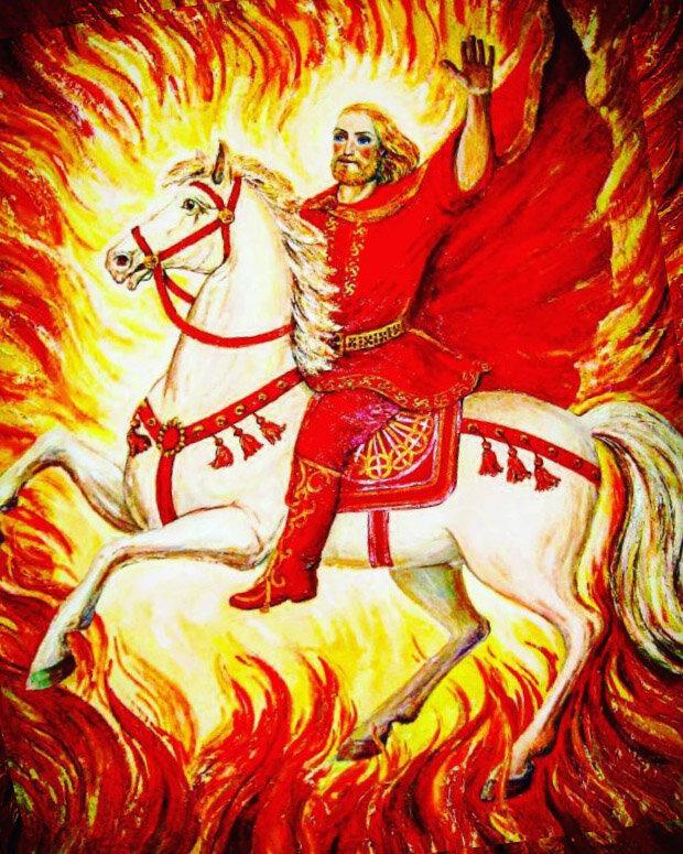 Ярило - бог солнца в мифологии древних славян
