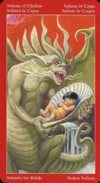 Таро Драконов — необычная колода в стиле фэнтези