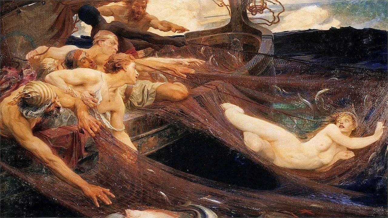 Наяды — обитательницы пресных водоемов древней греции (5 фото)