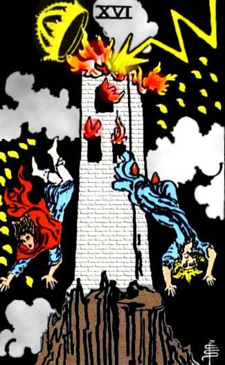 Башня таро тота: общее значение и описание карты