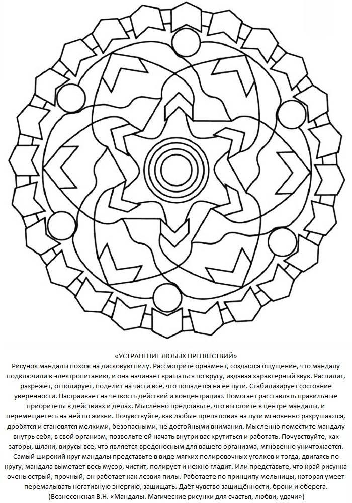 Как нарисовать мандалу по дате рождения