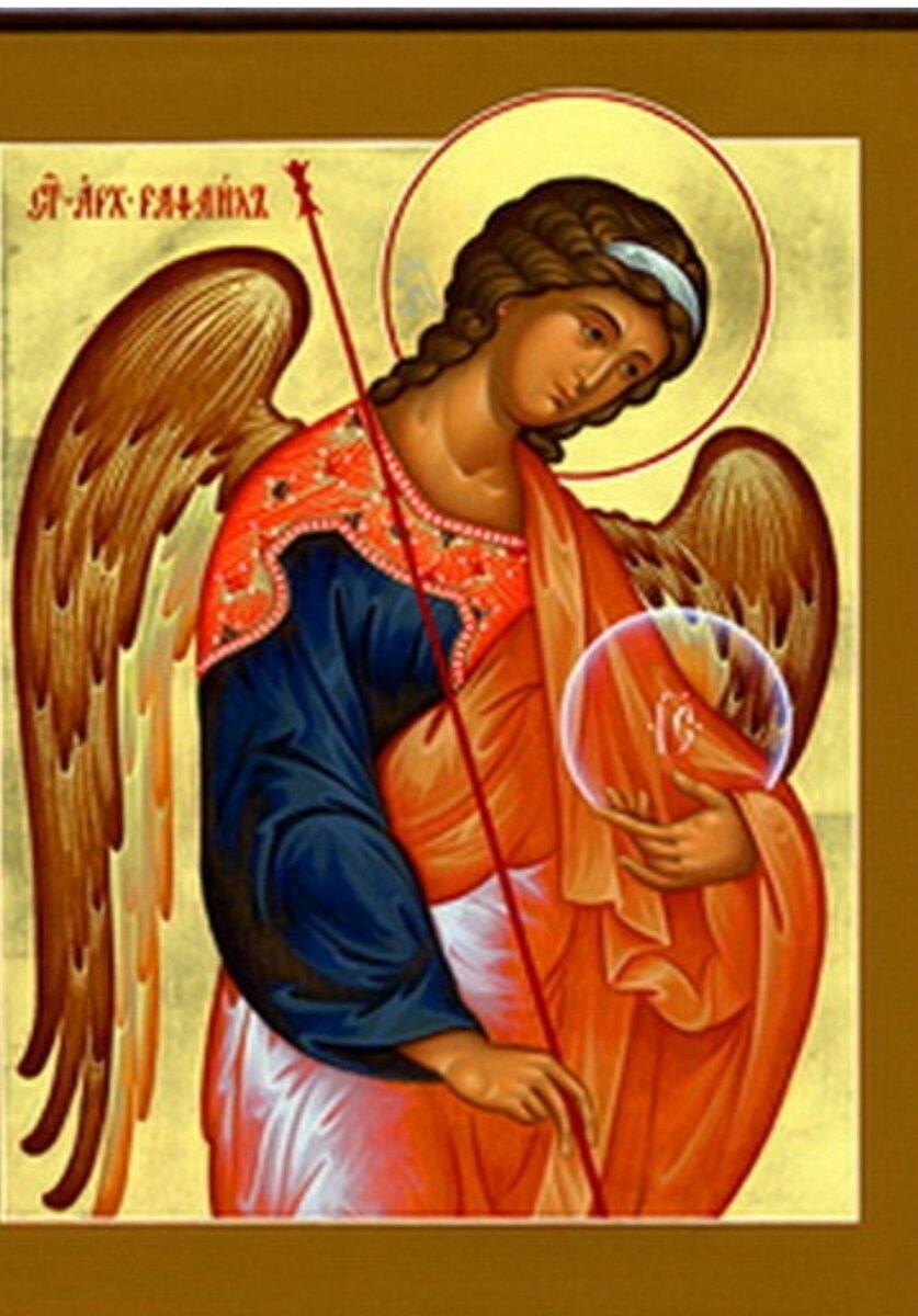 Икона архангела рафаила и в чем помогает святой покровитель, тексты молитв