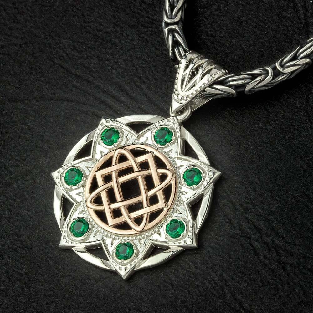 Славянский оберег звезда лады-богородицы в круге