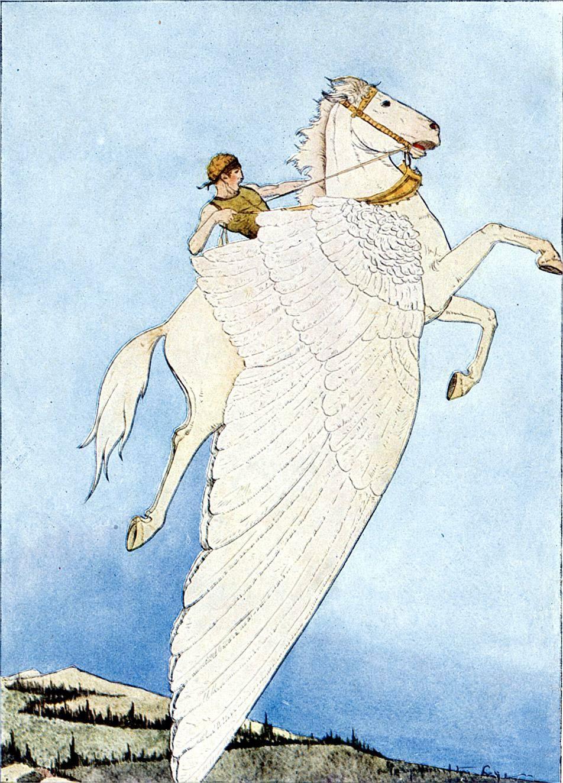 Арейон — быстроногий говорящий конь из мифов Древней Греции