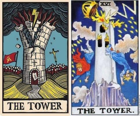 Башня таро: значение 16 аркана в раскладах и как карты дня, в отношениях и любви